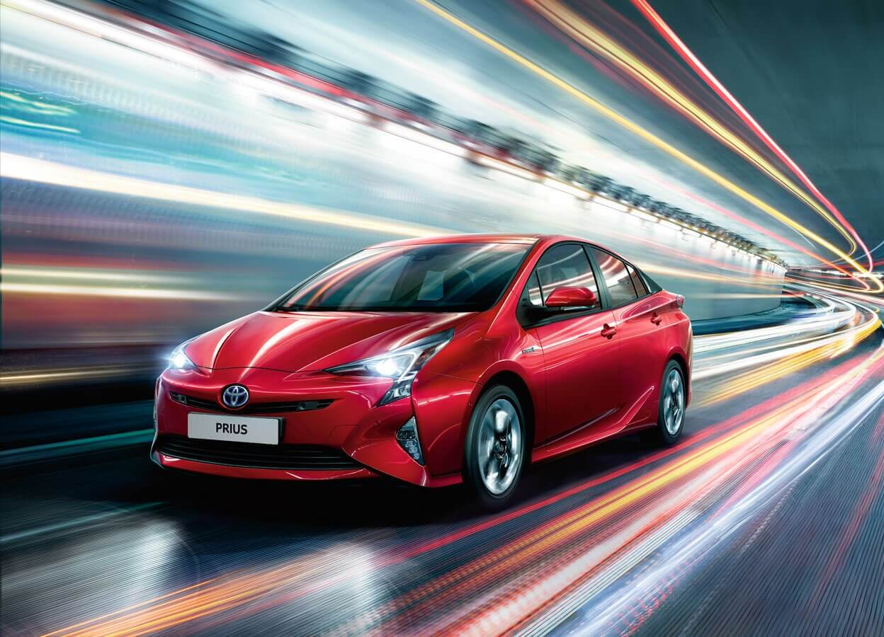 New Prius models & features